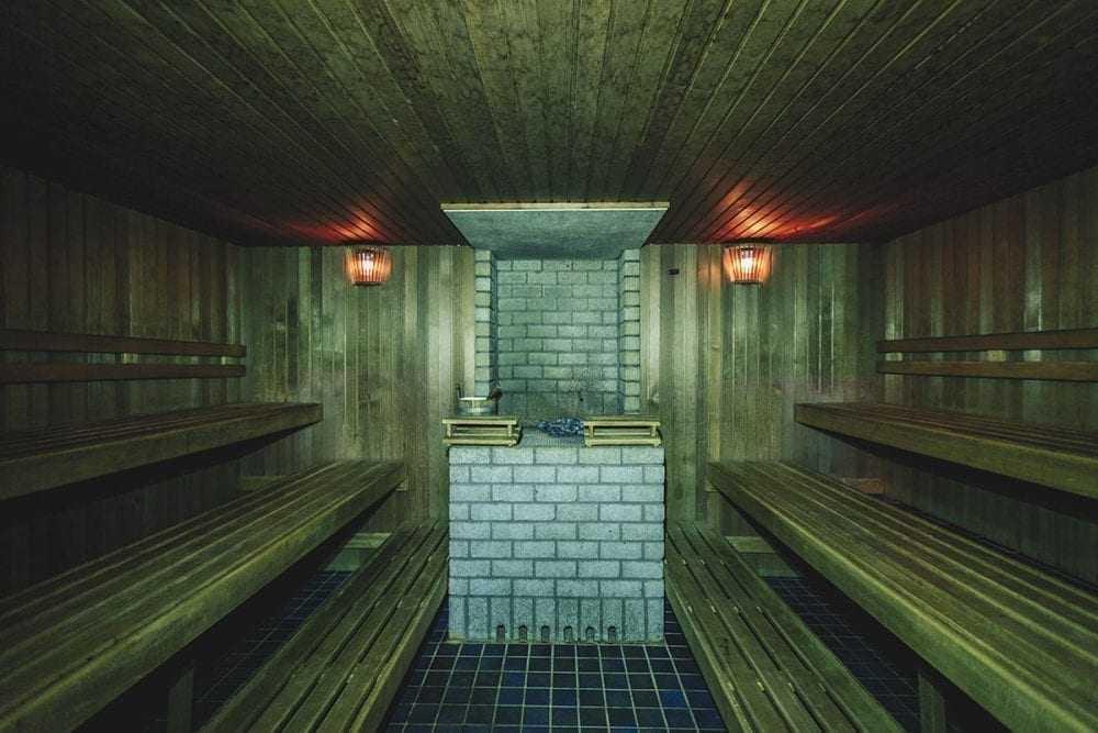 Big sauna