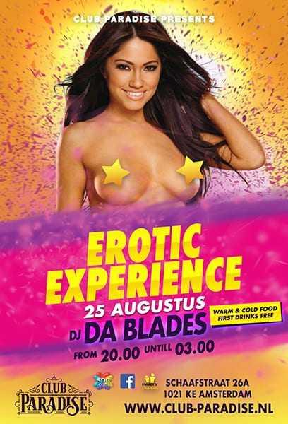 Erotic Experience 25 Augustus